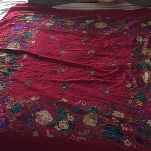 Bottega Veneta ornate silk scarf